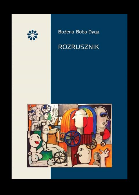 """Okładka książki """"Rozrusznik"""""""