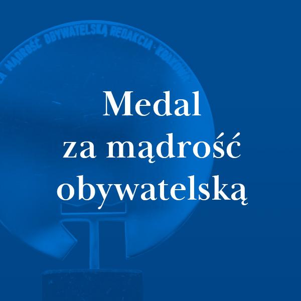 Nagroda Medal za Mądrość Obywatelską