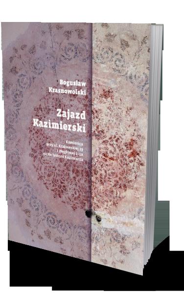"""Okładka książki """"Zajazd Kazimierski"""""""