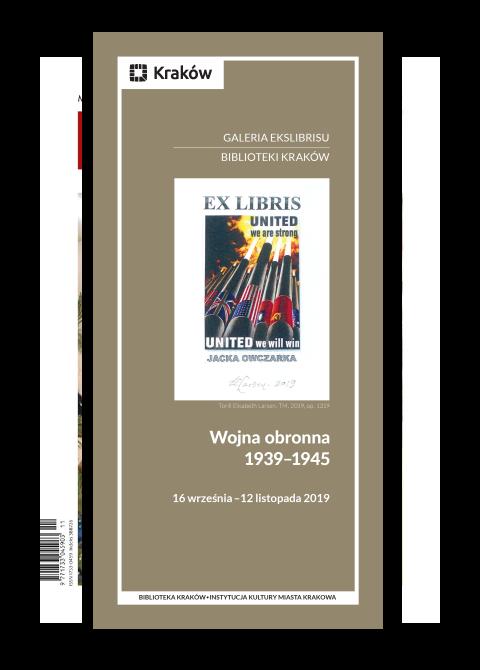 "Okładka katalogu ""Wojna obronna 1939–1945"""